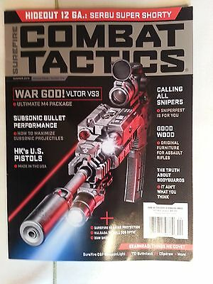 Surefire Combat Tactics Summer 2013, Volume 11 Number 1 / NEW 160 Pages