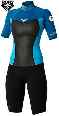 ROXY SYNCRO Short Sleeved SPRINGSUIT girl's size 16G wetsuit new NWT closeout