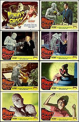 THE MUMMY'S GHOST LON CHANEY JR Set Of 8 Individual 11x14 LC Prints R-48