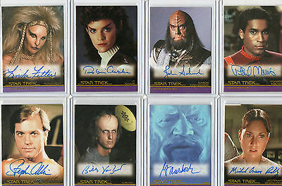 Star Trek Movies Complete & In Motion Autograph Card Selection NM Rittenhouse