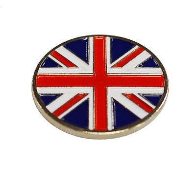 Union Jack Golf Ball Marker. National Flag. By Asbri