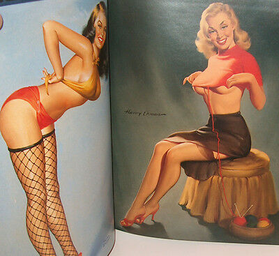 GREAT AMERICAN PIN UP BOOK GIANT 280 PAGES 900+ ALL COLOR ILLUSTRATION SEXY GIRL