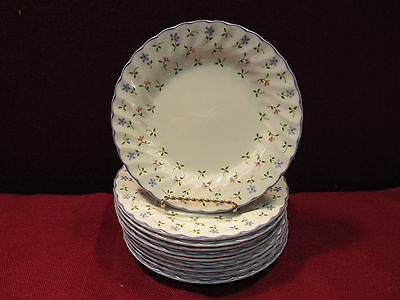 "Set of (10) Johnson Brothers Melody 6 1/4"" Bread Plates"