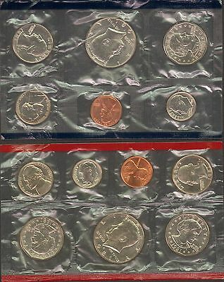 1981 Lot of 9 US Mint Sets  P & D 117 UNC coins  27 BU SCARCE SBA's
