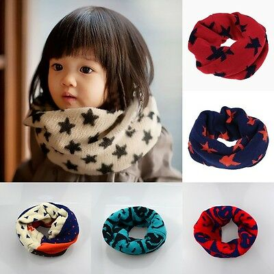 Winter Warm Kids Scarf Knitted Woolen Baby Girl Boy Accessories Kids' Clothing