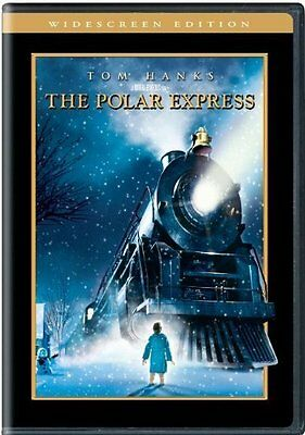 THE POLAR EXPRESS (WS) BRAND NEW DVD - GREAT HOLIDAY MOVIE + 2 BONUS XMAS MOVIES