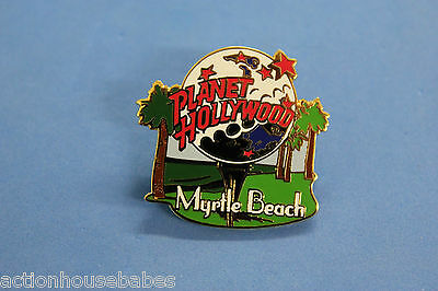 PLANET HOLLYWOOD MYRTLE BEACH COLLECTABLE LABEL/HAT/SOUVENIR PIN - GOLF COURSE