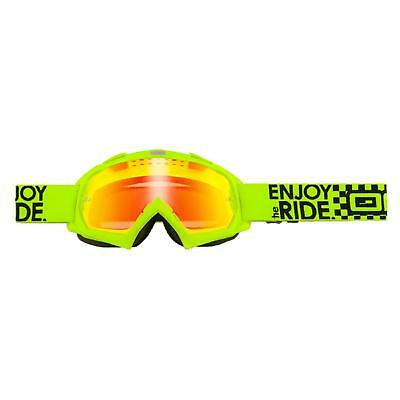 O'Neal B-Flex Goggle LAUNCH Neongelb Radium MX DH Enduro Cross Brille MTB SKI FR