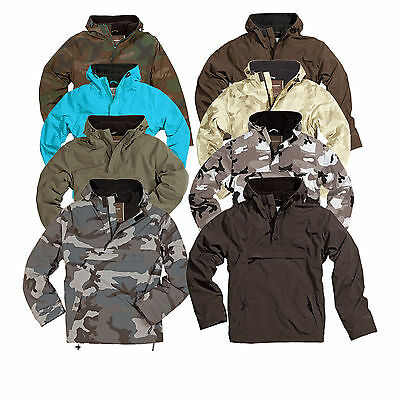 SURPLUS™ Raw Vintage Winter Jacke Anorak WINDBREAKER Snowboard Ski BMX Outdoor
