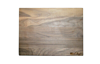 Kitchen Black Walnut Wooden Grain Cheese Cutting Chopping Board Butcher Block