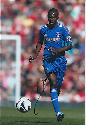 RAMIRES Signed Autograph 12x8 Photo AFTAL COA Chelsea Premier League RARE