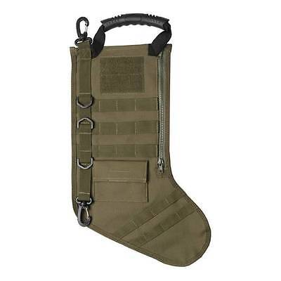 Gen Pro Tactical Christmas Stocking with MOLLE Attachment OD Green GPXMTSG