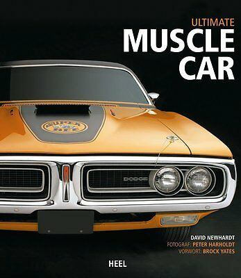 Ultimate Muscle Car (GTO Charger Roadrunner Superbird Bee Cars) Buch book DEU
