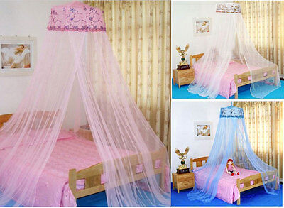 New Round Sequins Dome Bed Canopy Netting Mosquito Net Sequins Princess Curtain