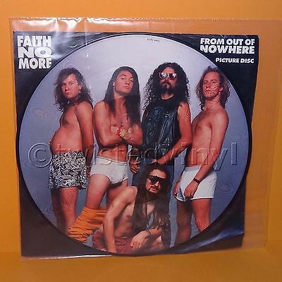 "1990 Slash Records Faith No More - From Out Of Nowhere 12"" Picture Disc Vinyl"
