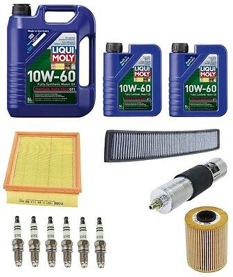 NEW BMW E46 M3 2001-2006 Filters Spark Plugs w/ Oil Tune Up Kit High Quality