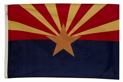 3x5 ft ARIZONA The Grand Canyon State OFFICIAL FLAG OUTDOOR NYLON MADE IN USA