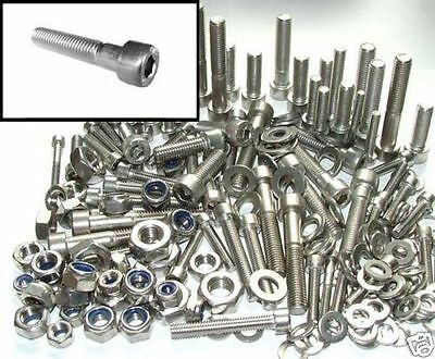 Stainless Steel Bolts +Nuts & Washers Honda Melody Hornet MT MTX FT NSR Bolt kit
