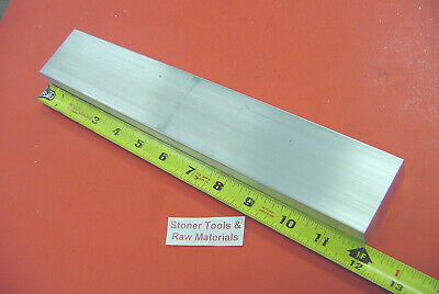 "1"" X 2-1/2"" ALUMINUM 6061 FLAT BAR 12"" long T6511 1.00"" Solid Plate Mill Stock"