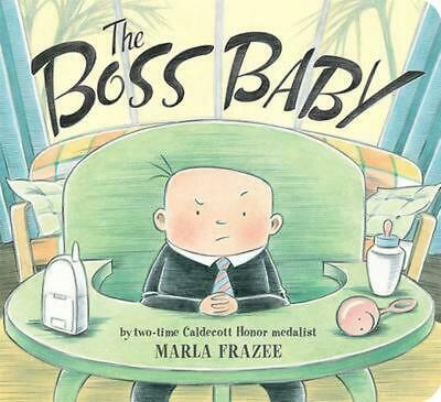 The Boss Baby by Marla Frazee (English) Board Books Book Free Shipping!