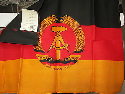 Authentic G.D.R. (German Democratic Republic) Flag made during Soviet Union Rule