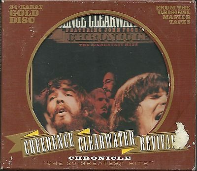 Creedence Clearwater Revival (CCR) Chronicle Vol.1 24 Karat GOLD CD mit Slipcase