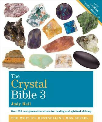 Crystal Bible 3 by Judy Hall (English) Paperback Book Free Shipping!