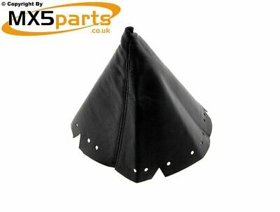 MX5 Black Leather Gear Lever Gaiter Mazda MX-5 Eunos Mk1 Mk2 Mk2.5 1989>2005