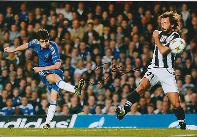 OSCAR Signed Autograph 12x8 Photo AFTAL COA Chelsea Premier Champions League