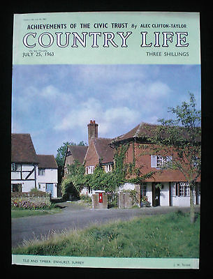 EWHURST VILLAGE SURREY 1pp MAGAZINE PHOTO COVER 1963