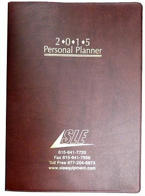 2015 Academic Weekly Daily Day Planner Organizer Calendar 7X10 RED