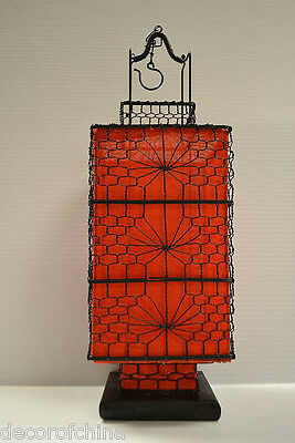 Nice Asian Chinese Red Fabric Lantern Feng Shui Home Decoration Party Gift