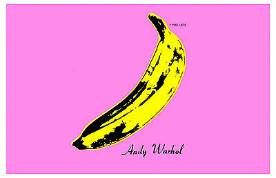 1960's Rock: Andy Warhol's  Velvet Underground * Banana * Promotional Poster