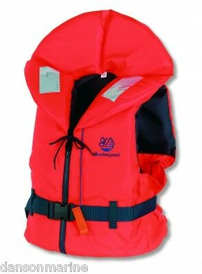 Brand New Marinepool 100N Lifejacket - choose your size from baby to adult