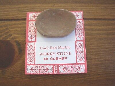 Connemara Marble by Gerard Worry Stone, Cork Red Marble