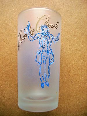 """Vintage Kentucky Colonels Glass """"A Toast"""" Howdy Colonel"""