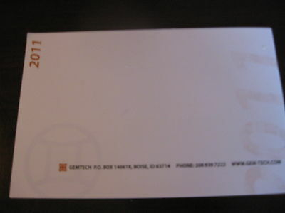 Gemtech Suppressors Product Catalog Booklet / 2011 / New / 29 Pages
