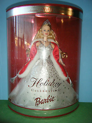 2001 Holiday Celbration Barbie *new*