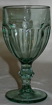 Libbey Signed Duratuff Spanish Green Gibraltar 10 oz Ice Tea Goblet 2 Available!