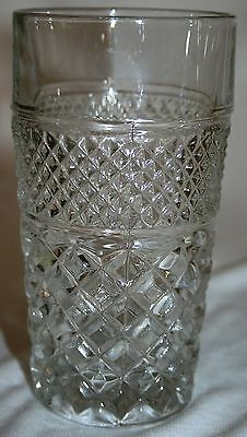 Vintage Anchor Hocking Fire King Glass Wexford 10 oz Water Tumbler 8 Available!