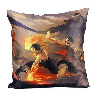 Cos Anime One Piece Portgas·D· Ace Pillow Hugging Cushion Dakimakura Sofa Bed