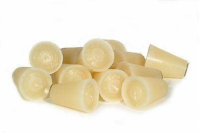 Unscented-12-Sugar Mold Candles -Mexican-Rustic-Candleholder-Cone Shape-Candle