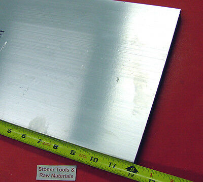 "4 Pieces 1/2"" X 10"" X 12"" ALUMINUM 6061 FLAT BAR SOLID T6511 Mill Stock Plate"