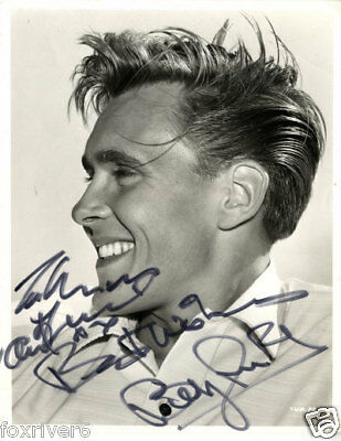 BILLY FURY Signed Photograph - Rock & Roll Singer / Vocalist Star