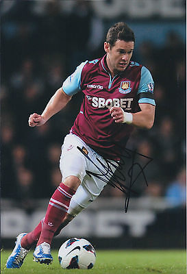 Matthew JARVIS SIGNED Autograph Photo ENGLAND AFTAL West Ham United Hammers