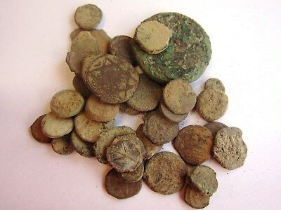 Liber - 10 Dirty Roman, Byzantine, Judean, Islamic and Greek coins