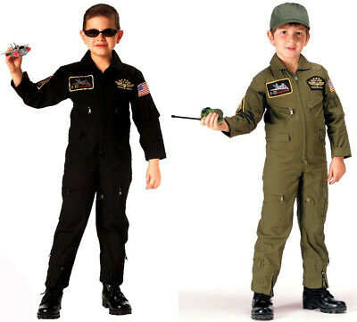 Kids Military Aviator Flight Suit Coveralls rothco 7302