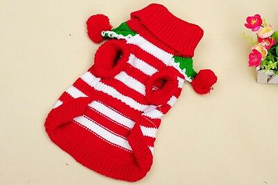 The new pet Christmas Colour profusion sweater puppy winter coat dog clothes 111