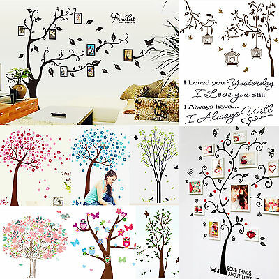 Art Kitchen DIY Removable Vinyl Quote Wall Stickers Decal Mural Home Kids Decor
