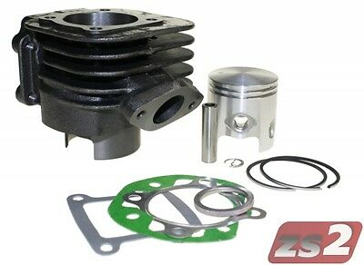 70ccm Racing Sport Zylinder Kit Set komplett für MBK Booster Spirit 50